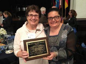 Linda Crawford and Diana Conan of URI